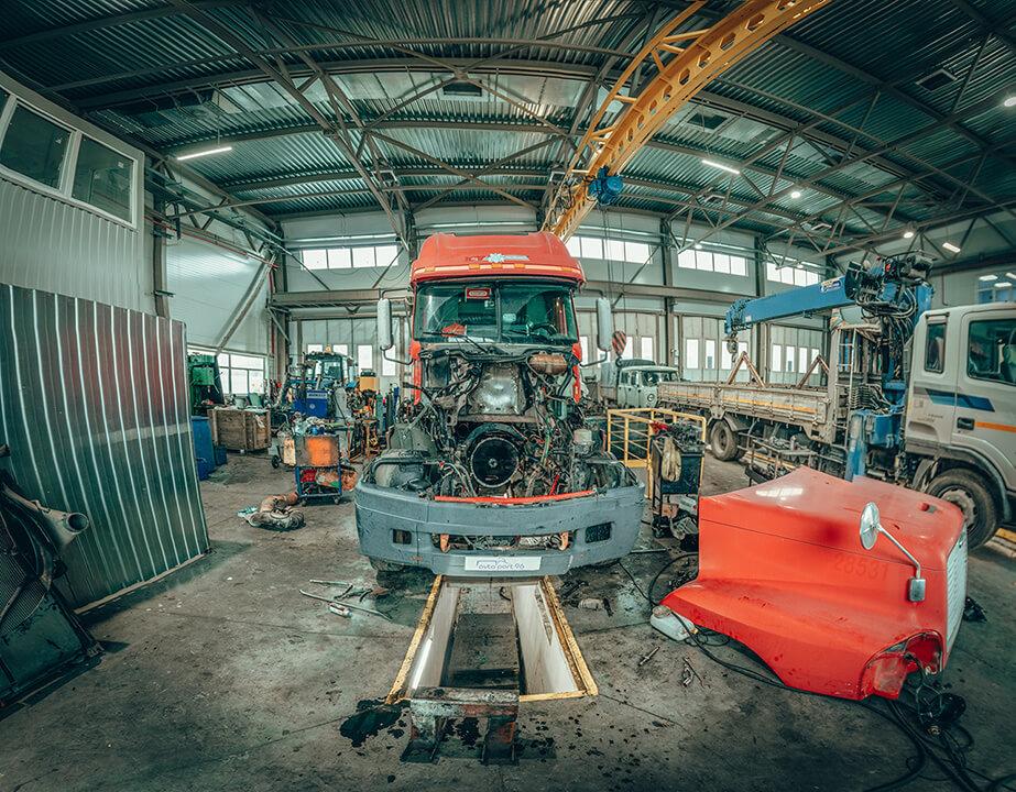 ремонт грузовых авто в днепре